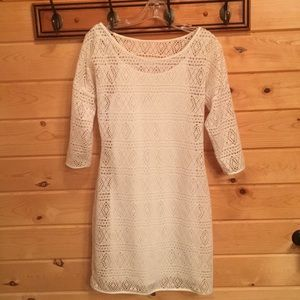 White Express dress. Size M.